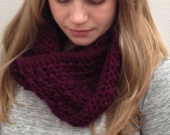 Plumberry Infinity Scarf (PATTERN ONLY)