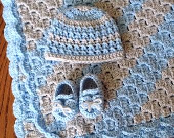 Baby Boy Blue Set (PATTERNS ONLY)