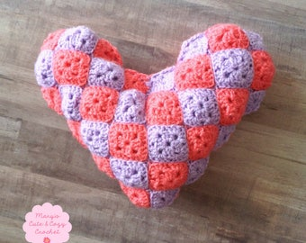 Heart-to-Heart Pillow (PATTERN ONLY)
