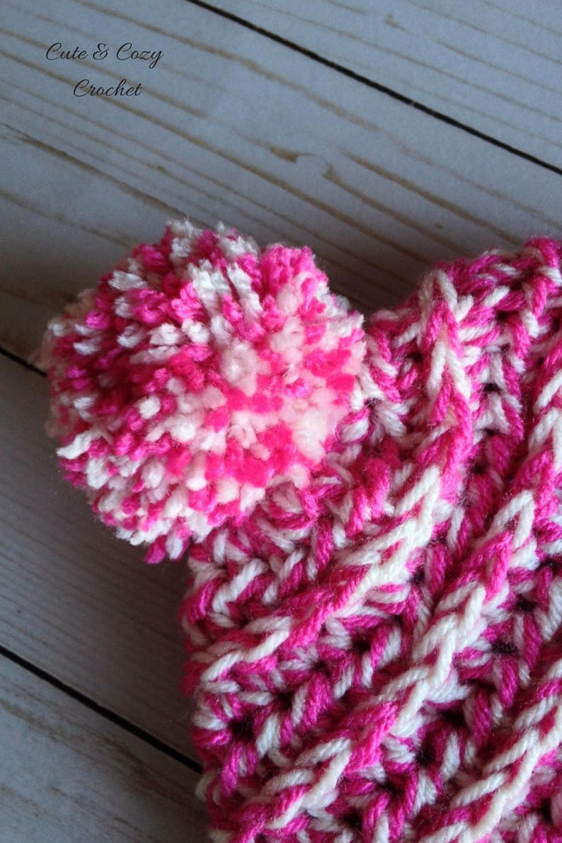 Cozy Crochet Toddler Slouchy PATTERN ONLY