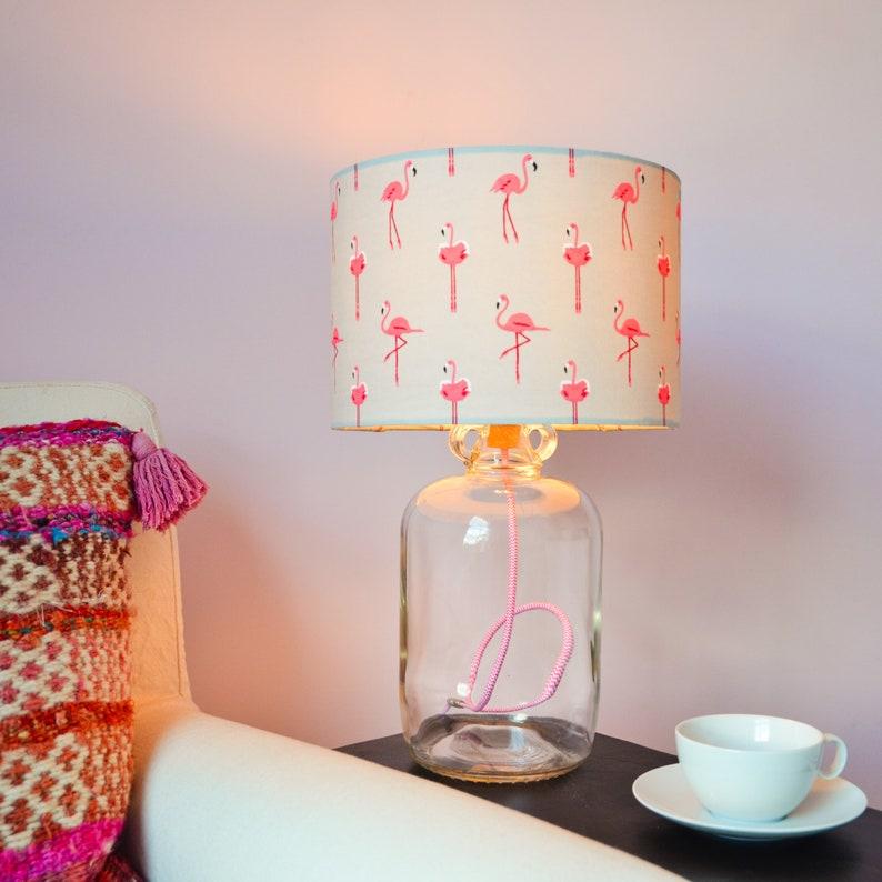 Lumière Câble De Et Dame Jeanne L'ombre Tissu Led Avec BlancPlus Lampe Rose n0PXkZN8wO