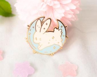 Cosmic Rabbits - Moony (Enamel pin)