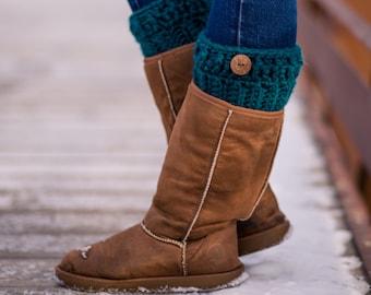 Boot Cuffs- Boot Toppers- Boot Socks- Crochet Boot Cuffs