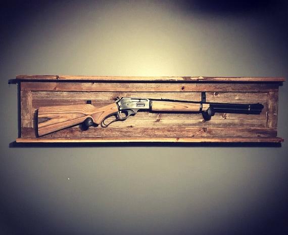 Rustic Gun Rack Etsy
