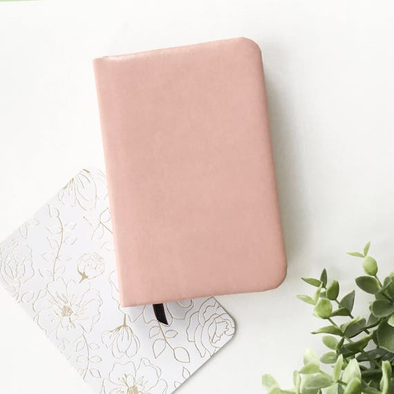Pink Notebook faux leather journal A6 notebook girl diary  71ac485ad