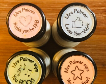 Personalised Teacher Stamps #1