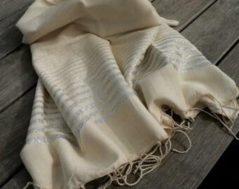 Fouta 1mx2m hand woven linen