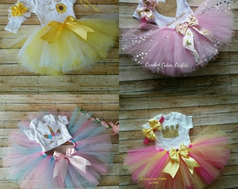 53b14ec1cc3c Tutu Baby Outfit, Photo Prop Baby Outfit, Baby Girl Skirt Infant Outfits, Newborn  Outfit, Photo Prop Outfit, Baby Girl Tutu Sunflower Outfit