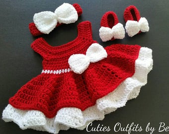 bf6026cfe Red baby dress