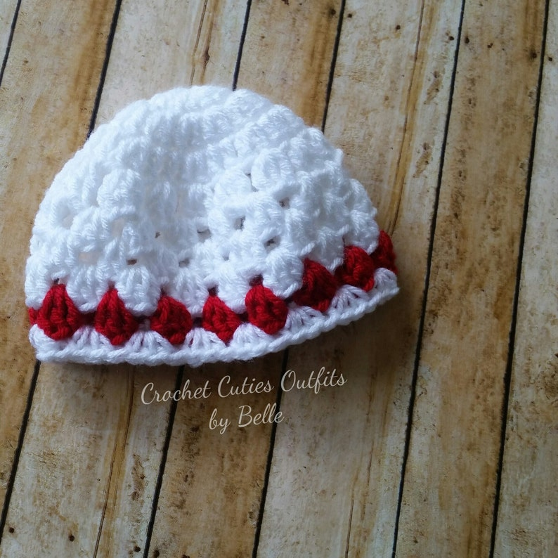 Crochet Baby Hat Pattern Almost Free Crochet Pattern 0 3 Etsy