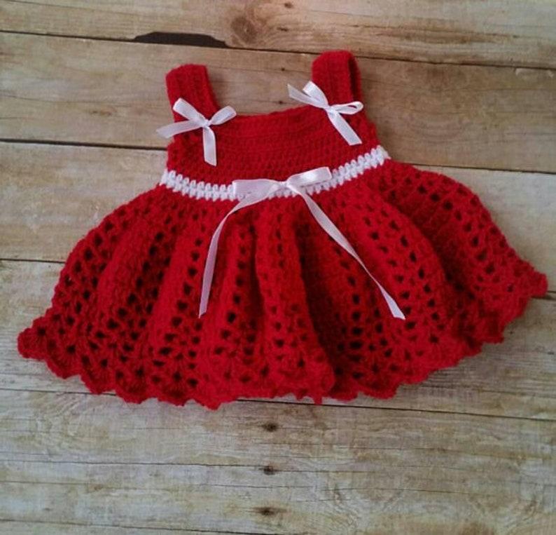 Crochet Baby Dress Pattern Almost Free Crochet Pattern Etsy