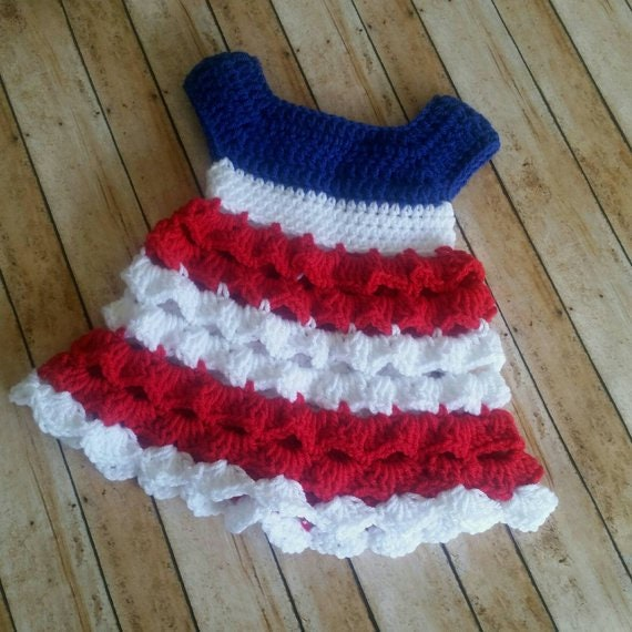 Crochet Baby Dress Pattern Almost Free Crochet Pattern Etsy