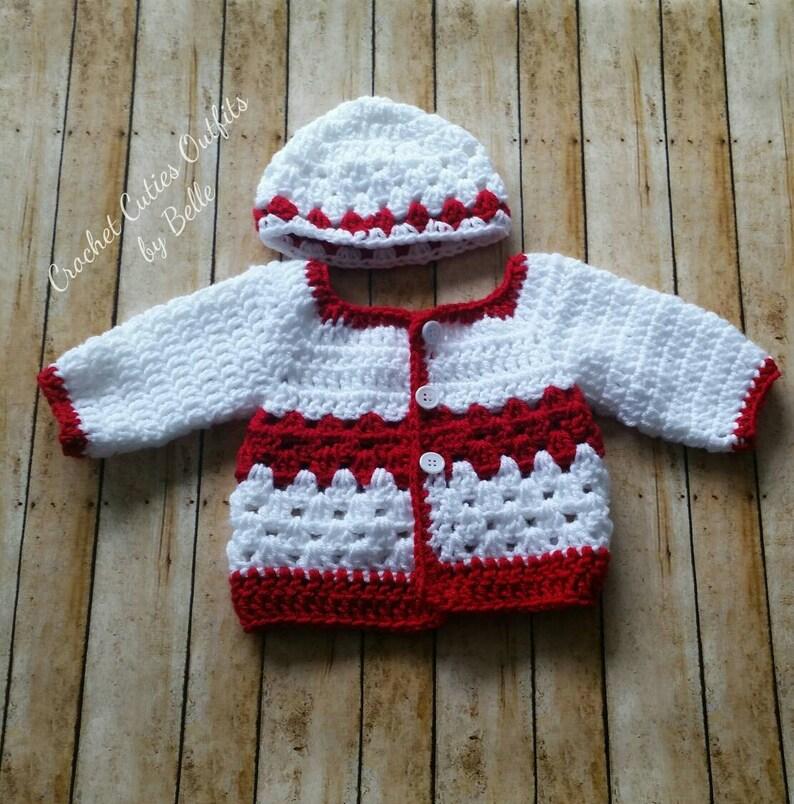 cfda5aa53 Baby Boy Girl Sweater 0-3 Months Baby Hat Newborn Coming