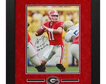 Larry Munson Autographed / Hand Signed 8x10 Georgia Bulldogs | Etsy