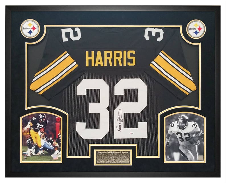 2ec1e8028f6 Franco Harris Pittsburgh Steelers Autographed / Hand Signed | Etsy