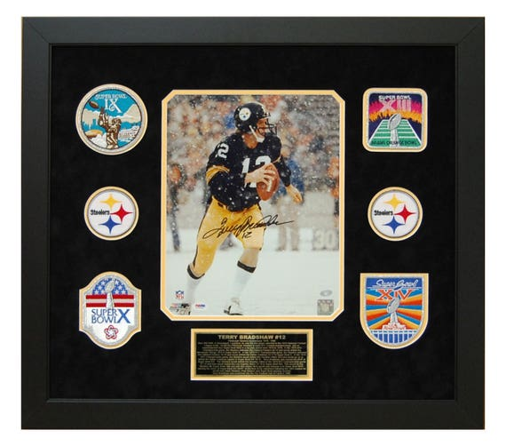 074cef510a6 Terry Bradshaw Pittsburgh Steelers Autographed   Hand Signed