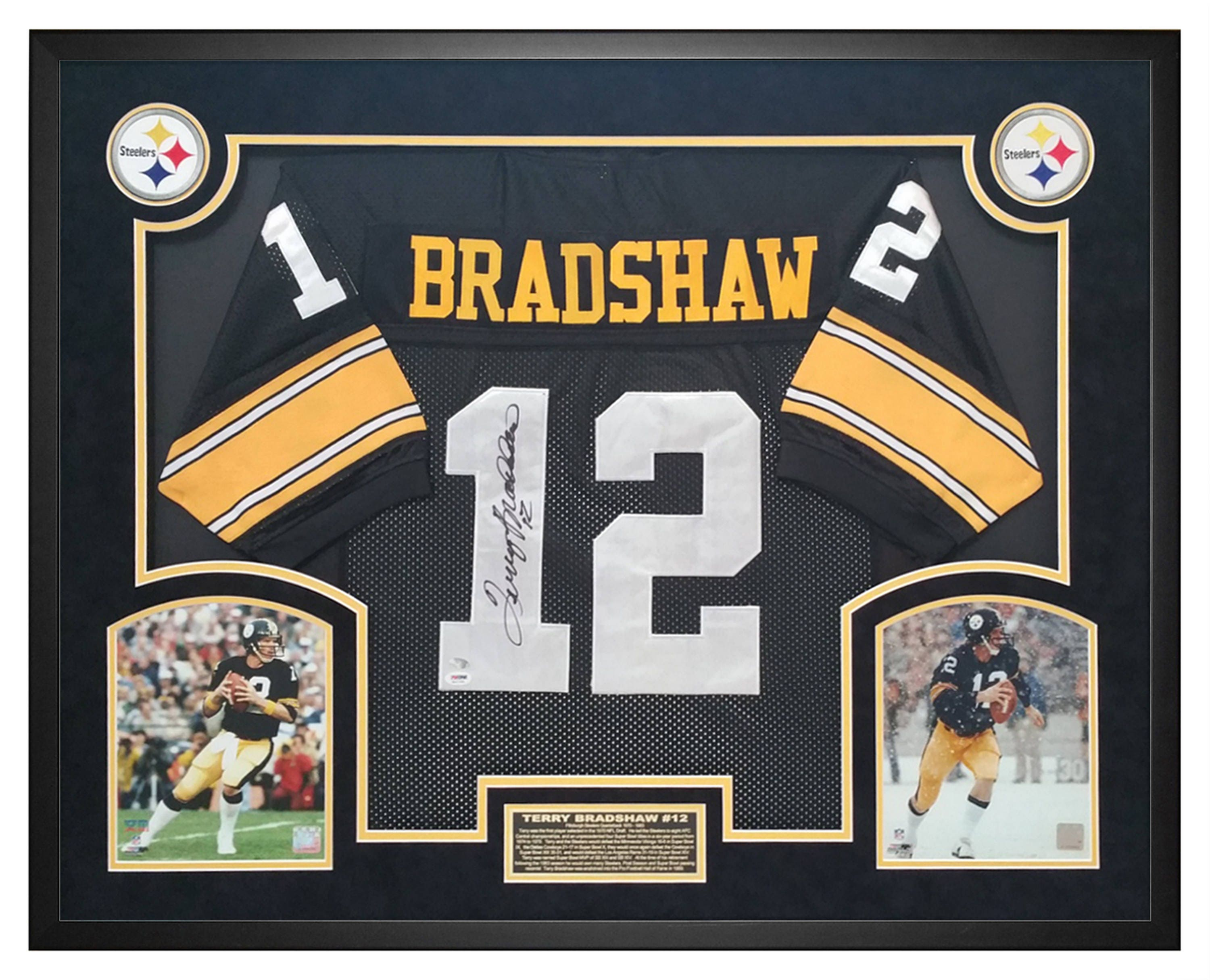 f4d76bd71 Terry Bradshaw Pittsburgh Steelers Autographed   Hand Signed