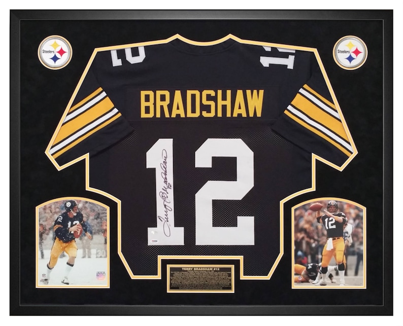 77c1a3712b2 Terry Bradshaw Pittsburgh Steelers Autographed   Hand Signed