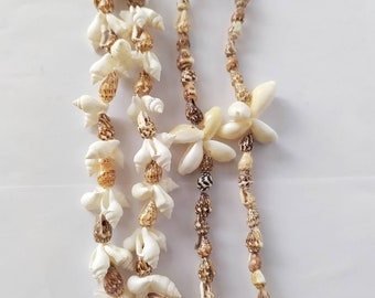 Necklace and Bracelet Findings,SM-202353-1 Shiny Gold Plated Shell Charms 9x10mm Cowrie Enamel Charms