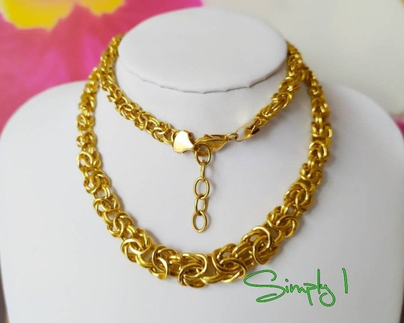 18ct YELLOW GOLD CHAIN END 4mm JEWELLERY MAKING
