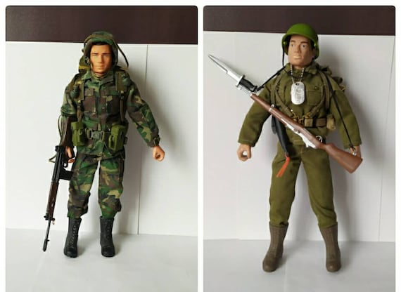 21st Century Toys Ultimate Soldier WWII U.S MILITARY TALL BROWN BOOTS 1//6 Scale