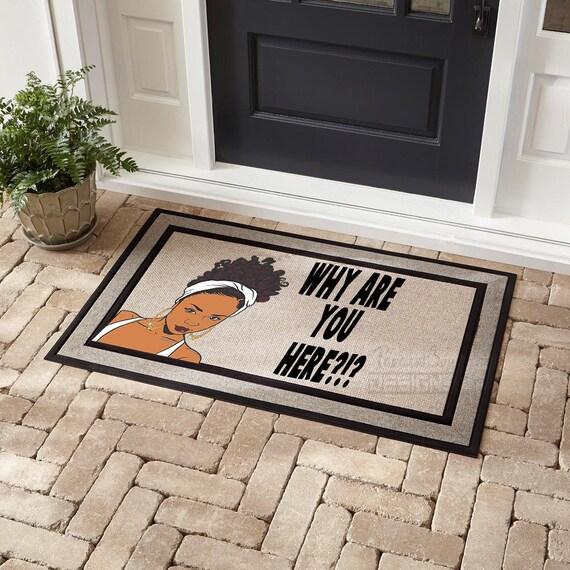 Funny Front Door Mat Outdoor Mat 18x30 Mat Home Etsy