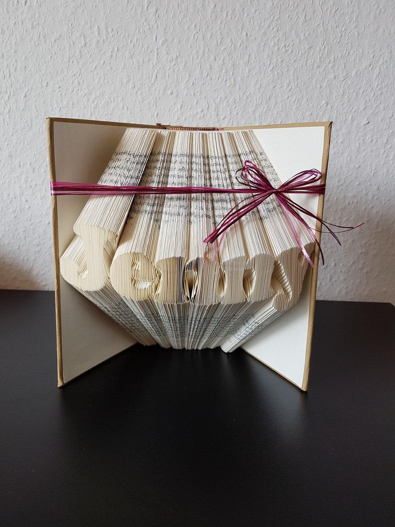 Buch Geschenk Weihnachten.Muttertag Weihnachten Geschenk Gefaltetes Buch Geburtstag