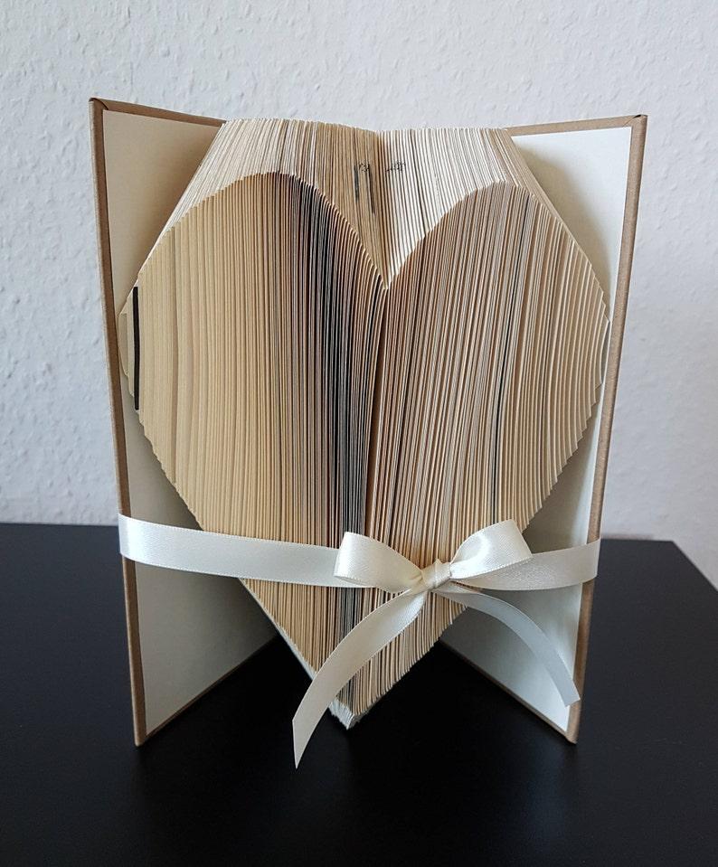 Buch Geschenk Weihnachten.Geschenk Gefaltetes Buch Weihnachten Muttertag Geburtstag