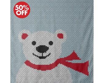 Crochet C2C Bernat Blanket Bear - Repeat Crafter Me | 270x340