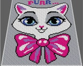 C2C Cat Crochet Patter C2C Crochet Blanket C2C Graphgan Patterns C2C Graph with Written Instructions