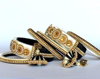 Silk Thread Designer Bangles with Jhumki Earrings/ Indian Ethnic Jewellery