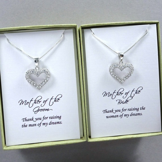 Mother Of The Bride Gifts: Mother Of The Bride Gift Necklace Mother Of The Groom Gift