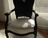 Revamped Louis XV armchair