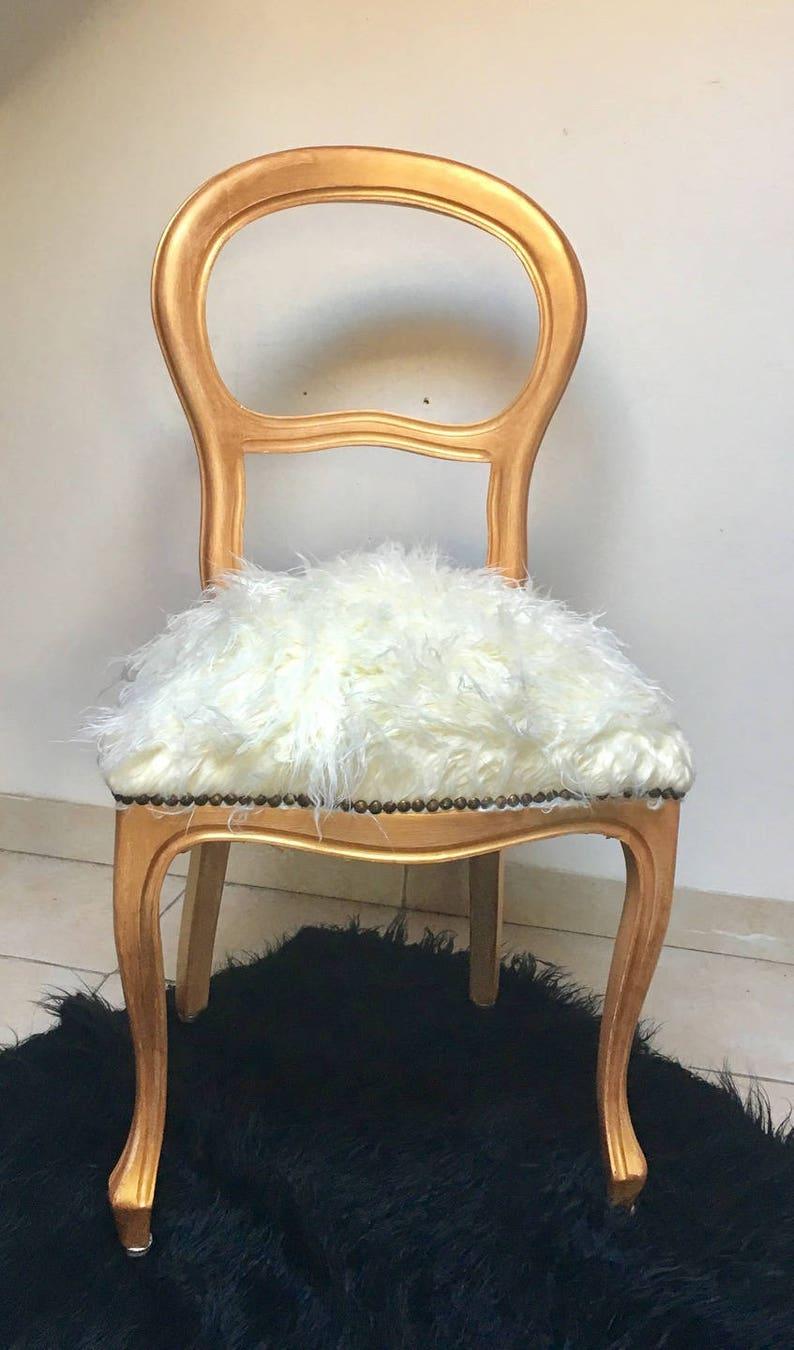 Chaise Style Louis Philippe Contemporaine