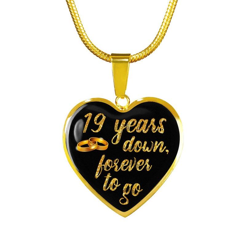 2b417402a8b558 19 rocznica prezent dla żony kobiety dla dziewczyna 19 lat | Etsy