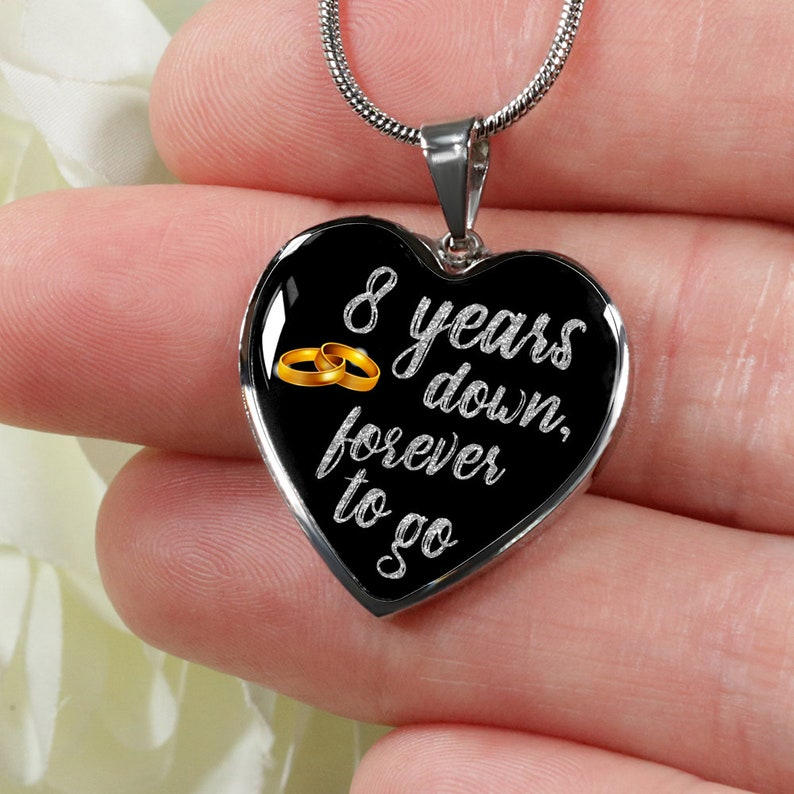 7531c803a1c2d2 8 rocznica prezent dla żona dla niej dla dziewczyna 8 lat | Etsy