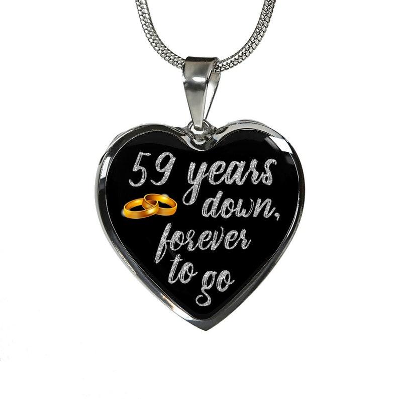 9b2eef5621736e 59th prezent rocznica dla żony kobieta za jej dziewczyna 59 | Etsy