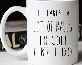 Funny Dad Golf Mug, Funny Fathers Day Mug, Birthday Gift for Dad, Dad Mug, Gift for dad, Coffee Mug, Dad cup, Dad Gift, Dad Christmas Gift