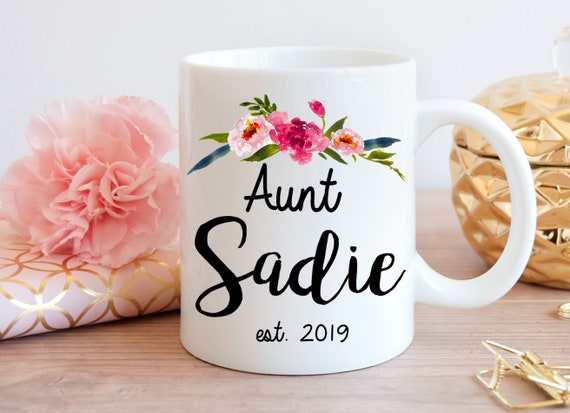 4032074674 Aunt Mug Aunt Gift Gift for Aunt Pregnancy Reveal Coffee | Etsy