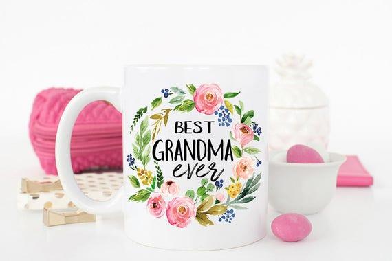Best Grandma Ever Mug Grandma Gift Gift For Grandma Mothers Day
