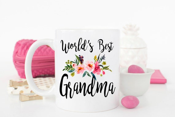 Worlds Best Grandma Mug Gift For Ever Birthday New