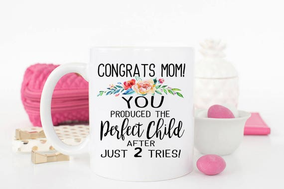Funny Mothers Day Mug Favorite Child Gift For Mom Birthday