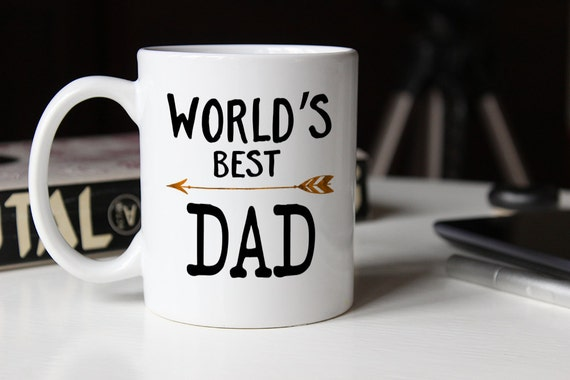 Worlds Best Dad Gift For Fathers Day Ever Mug Birthday Gifts Him