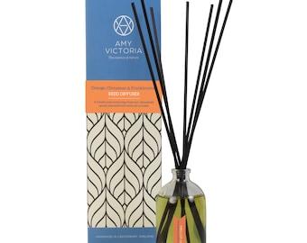 Orange, Cinnamon & Frankincense essential oil reed diffuser