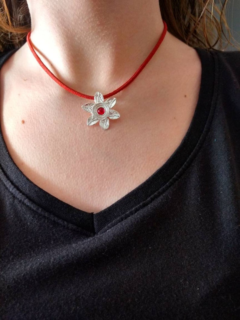 185a17871f4 La rosacée médiéval ancien Templier bijoux en argent sterling