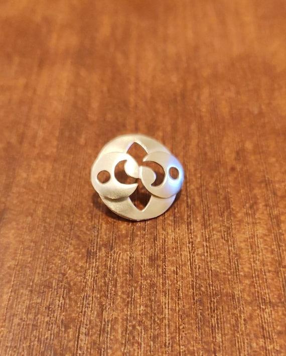 Roswell Stone Pin laton natural