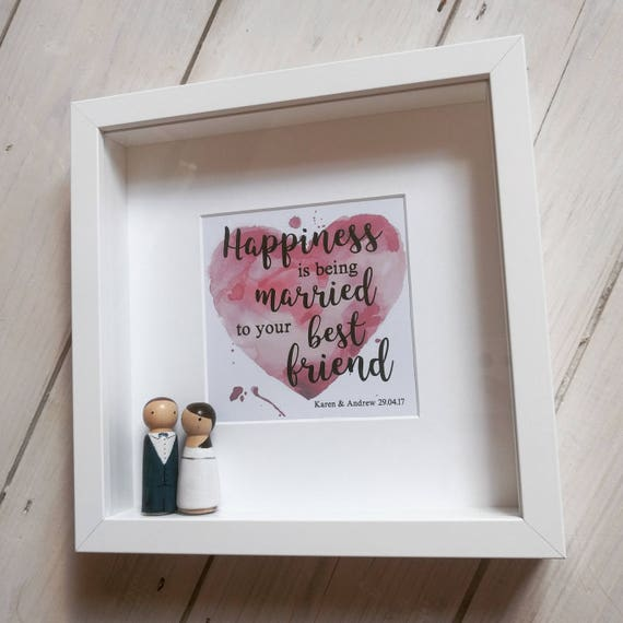 LiShay Mini Pink Heart Baby Photo Frame