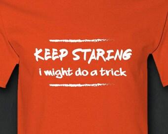 Funny Shirt, Humor, Keep Smiling, Mens Funny Tshirt, Sarcastic Tshirt, Sarcasm, Sarcastic Gift, Gift for Father, Mens Gift, T-shirt, Shirt
