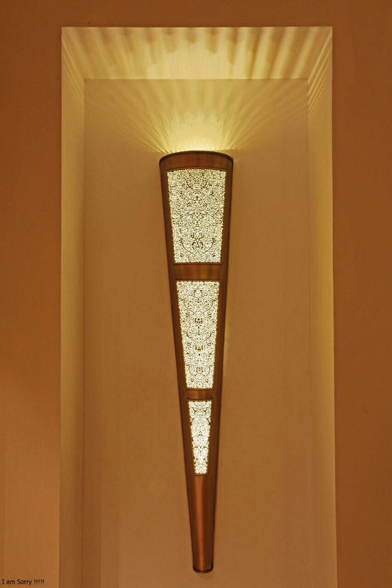Moroccan sconce indoor wall sconce wall