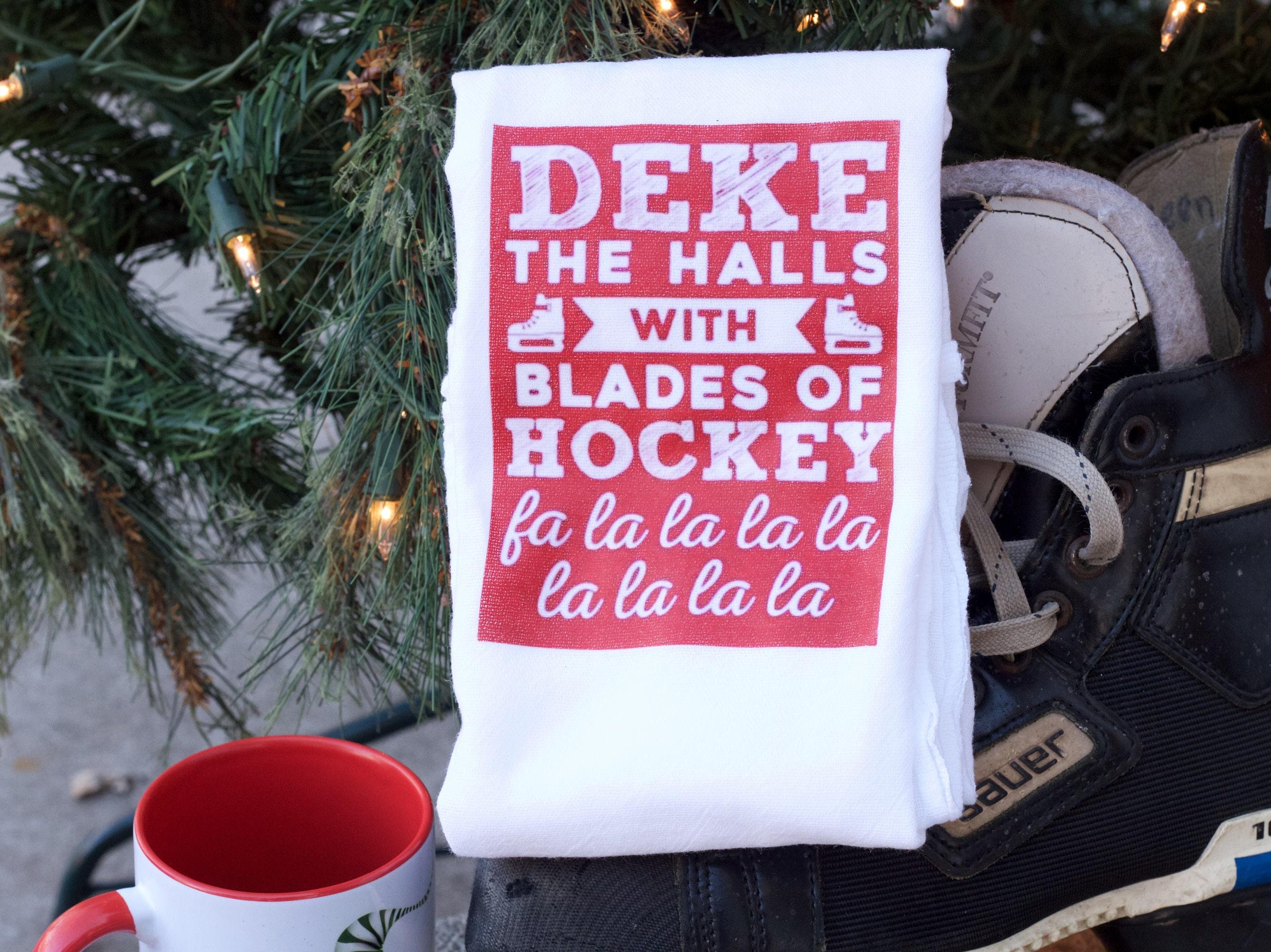 Hockey-Handtuch Hockey Strumpf Stuffers Hockey Mom Geschenk